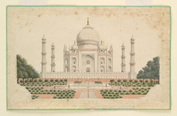 Cenotaph [tomb] of the Emperor Shah Jahan